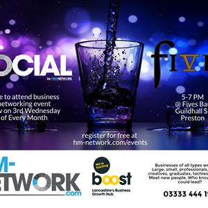 Social @ Fives Bar Preston