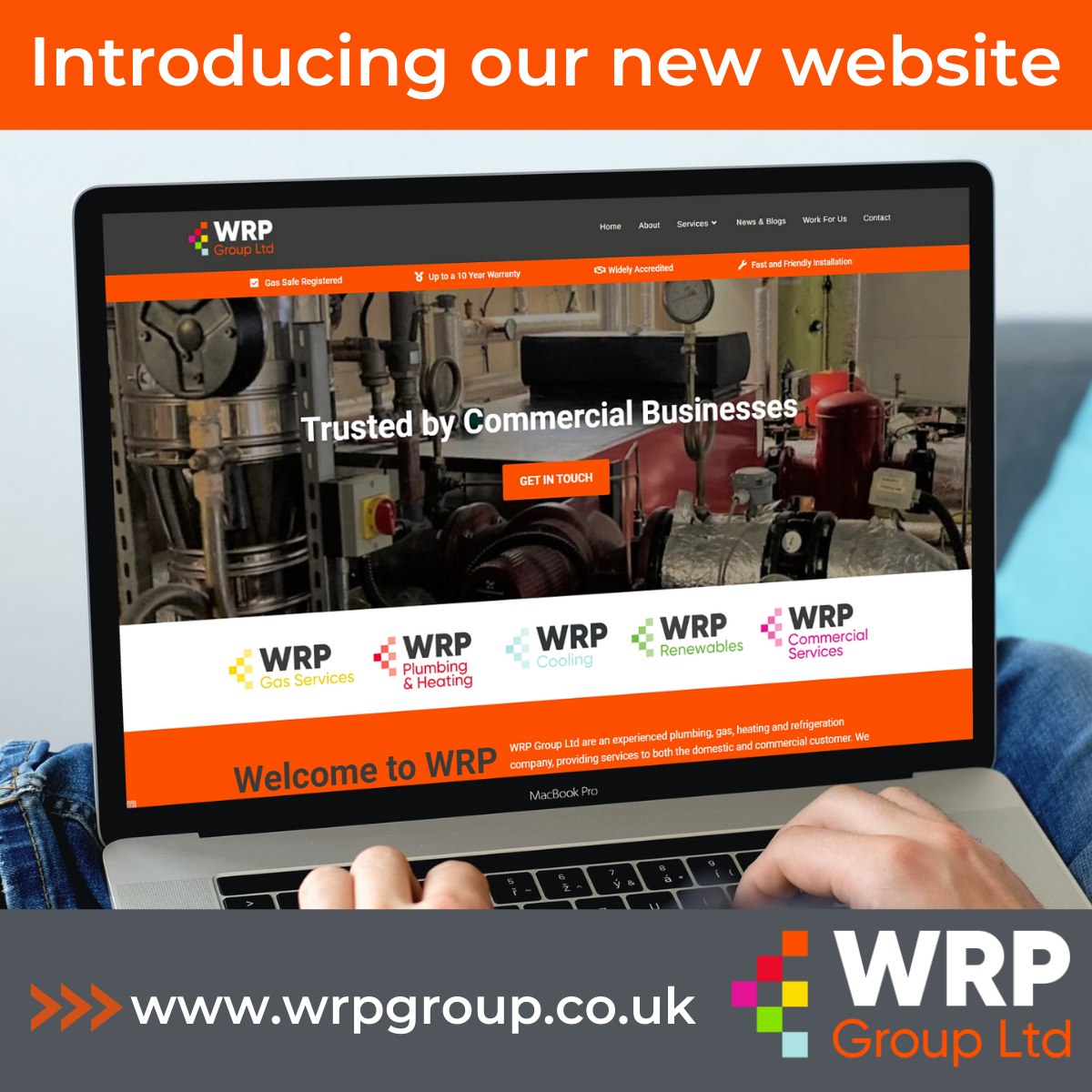 WRP Group Launches New Website