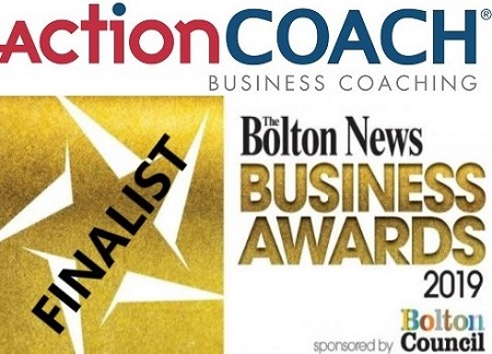 Finalist in Bolton Business Awards 2019