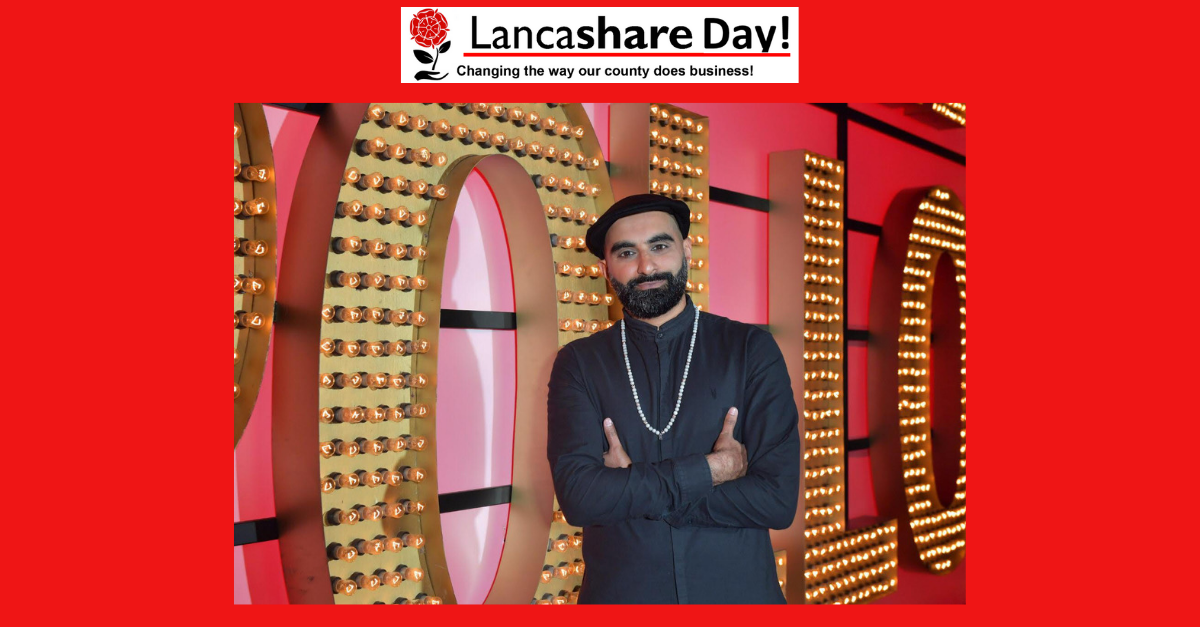 Nationally recognised comedian Tez Ilyas to entertain on Lancashire Day!