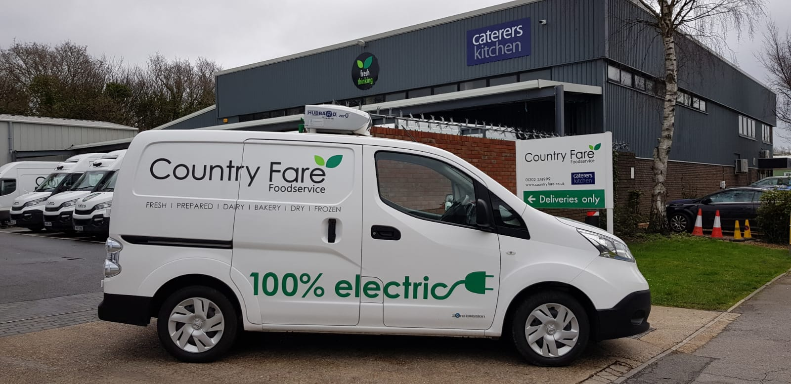 All-Electric Refrigerated Vehicle For Country Fare
