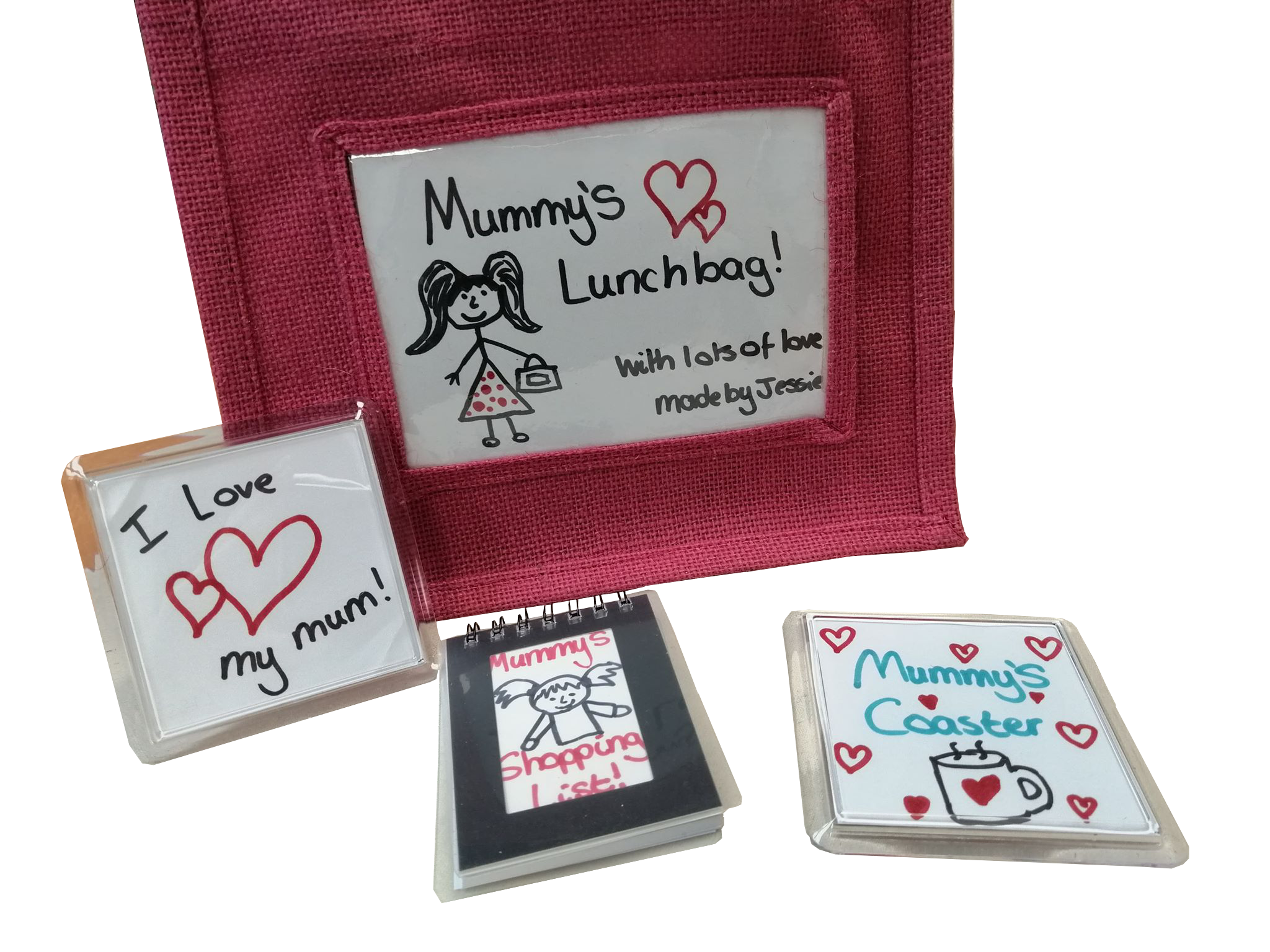 Highly personalised photo insert gifts for Mother's Day