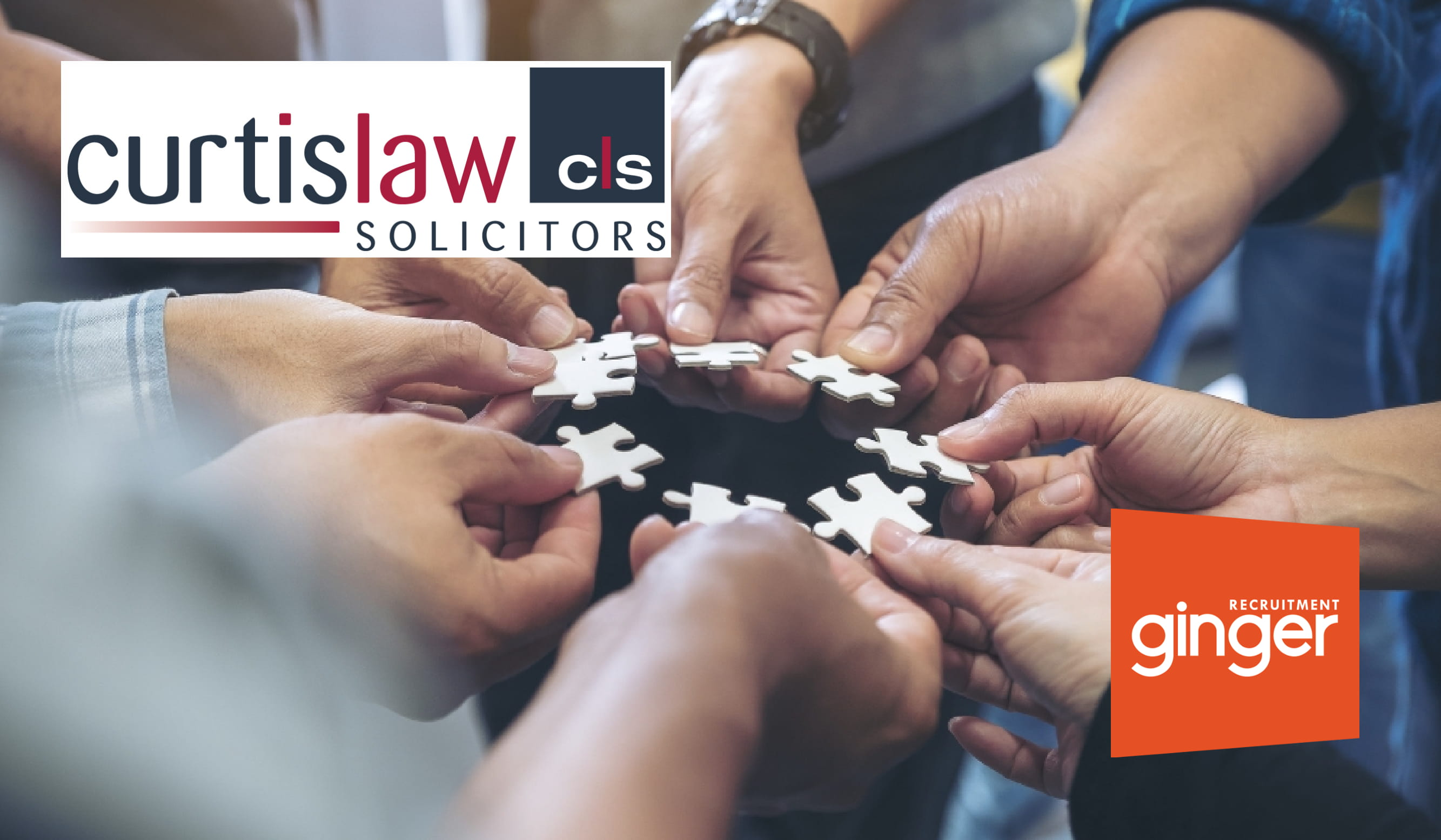 Curtis Law partners with Ginger Recruitment