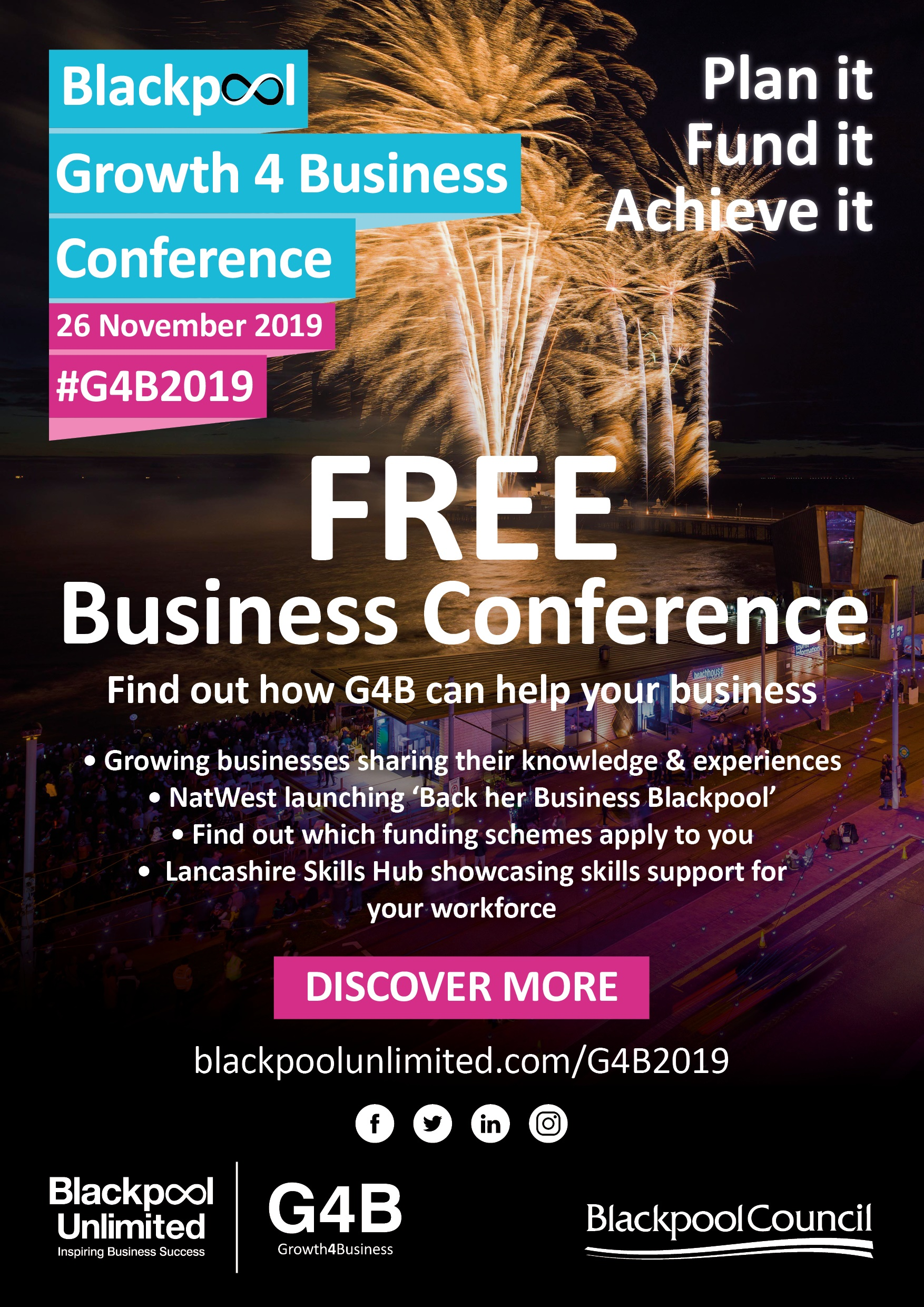Blackpool Growth 4 Business Conference - 8 Questions Answered