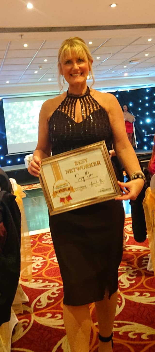 Manchester Lifestyle Best Networker is Suzy Orr CEO of Unique Ladies