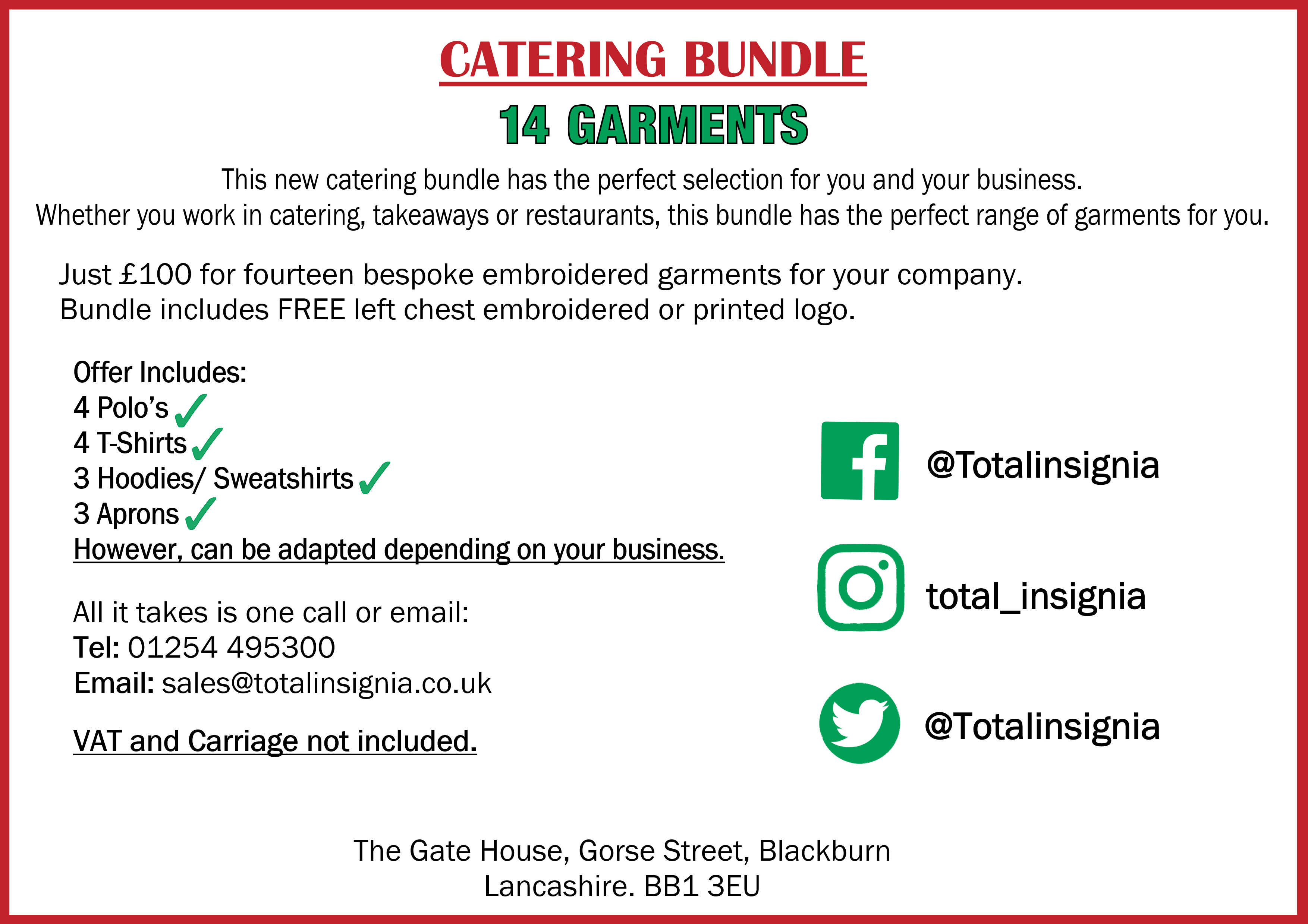Catering Bundle