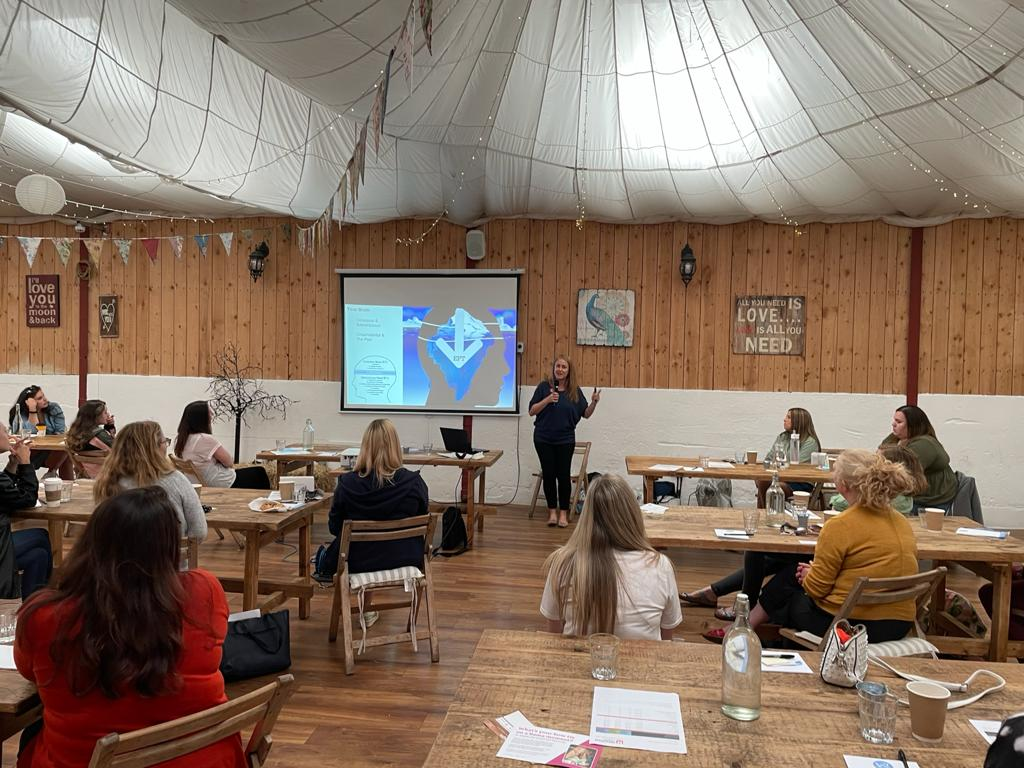 Breathe Therapies delivers EFT workshop for the team at Advocacy Focus!