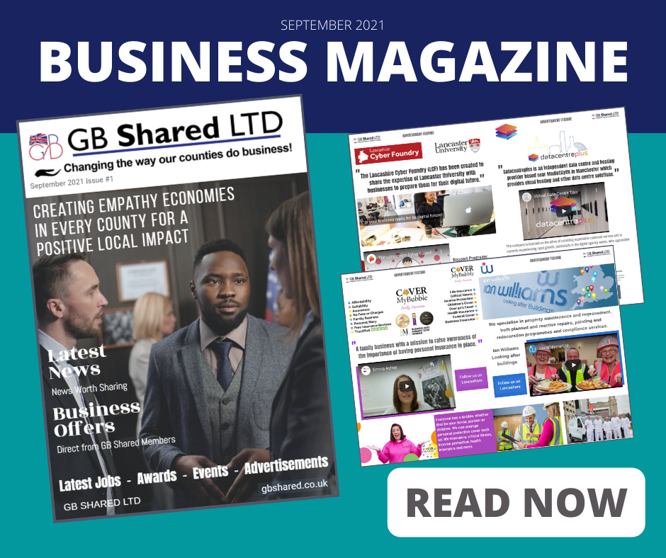 Another Fully Interactive Digital Magazine created by the GoRanks.com Team for GB Shared Ltd - founder Lisa Edge