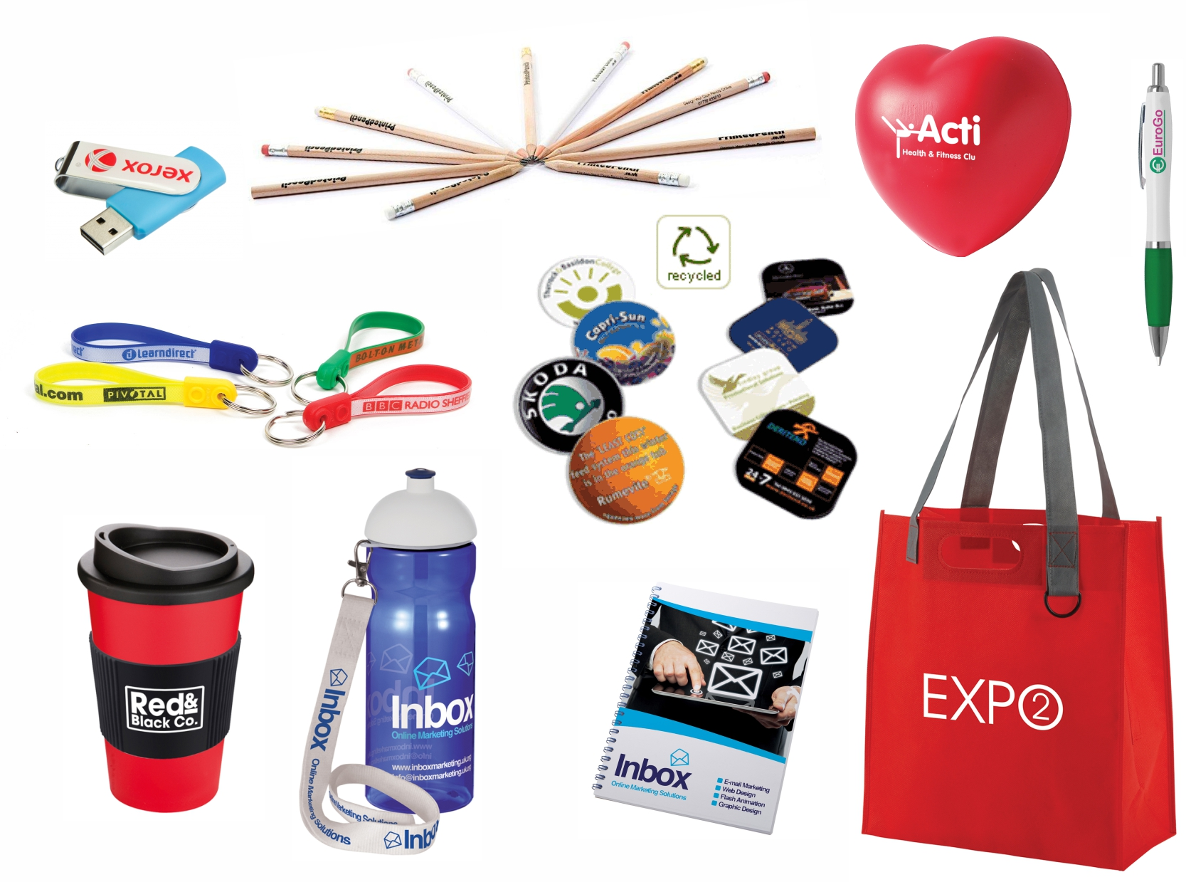 Branded Promotional Gift Ideas for Exhibitions and Events