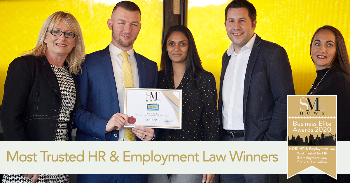 Most Trusted HR Award for NORI HR