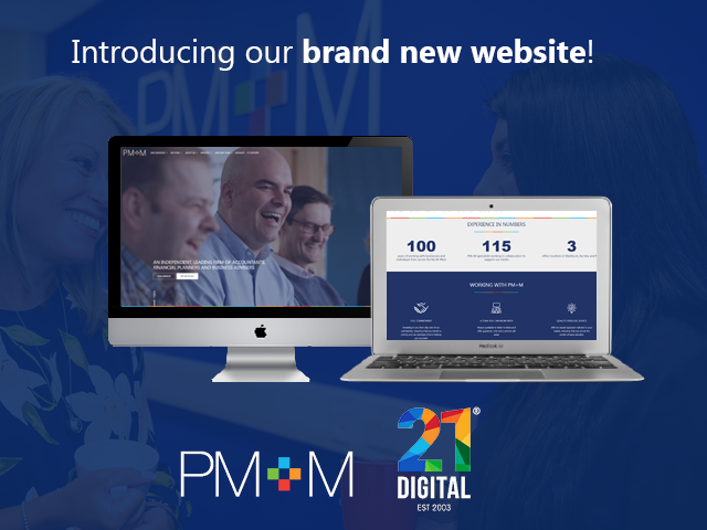 PM+M launches brand new website