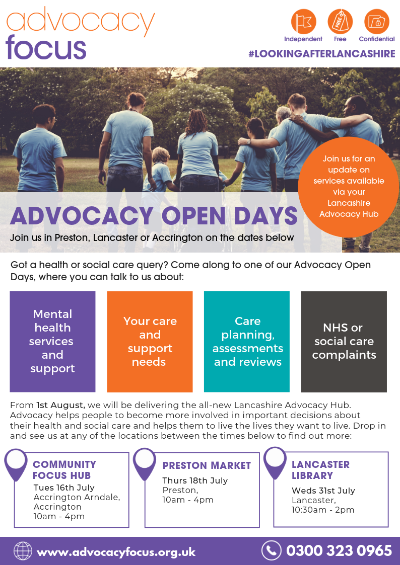 Advocacy Hub contract win for Advocacy Focus