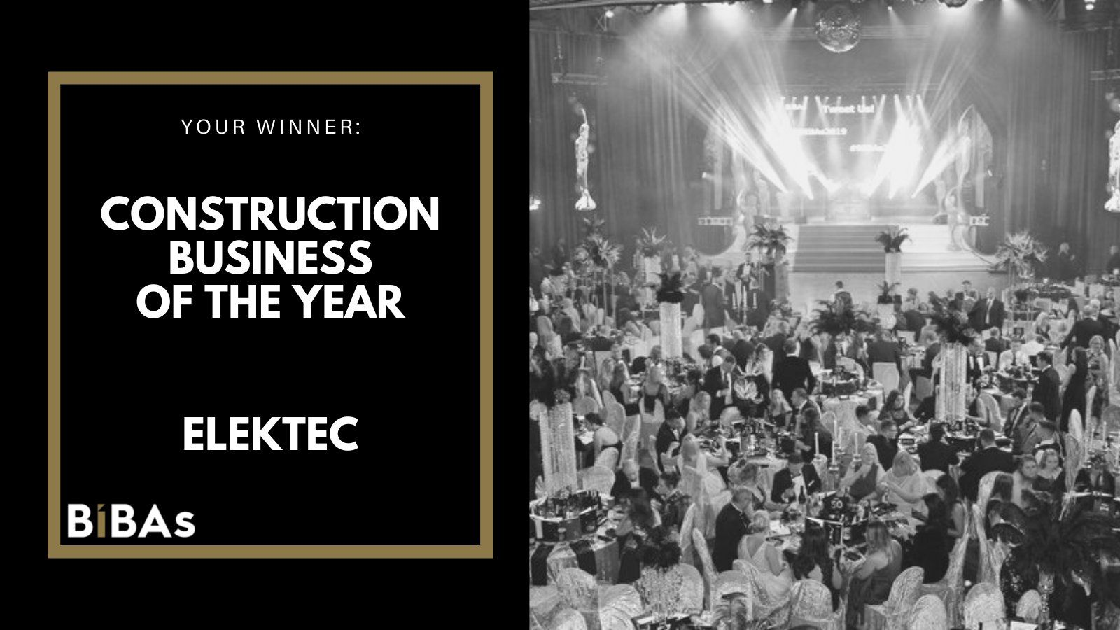 Elektec named the BIBAs Construction Business of the Year
