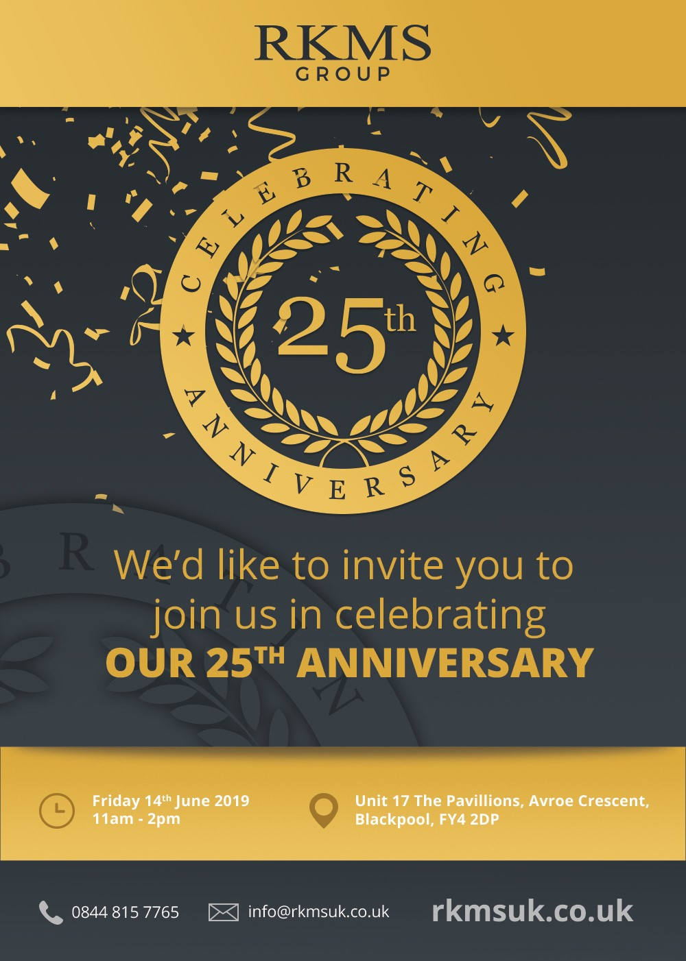RKMS 25th Anniversary Open Day!