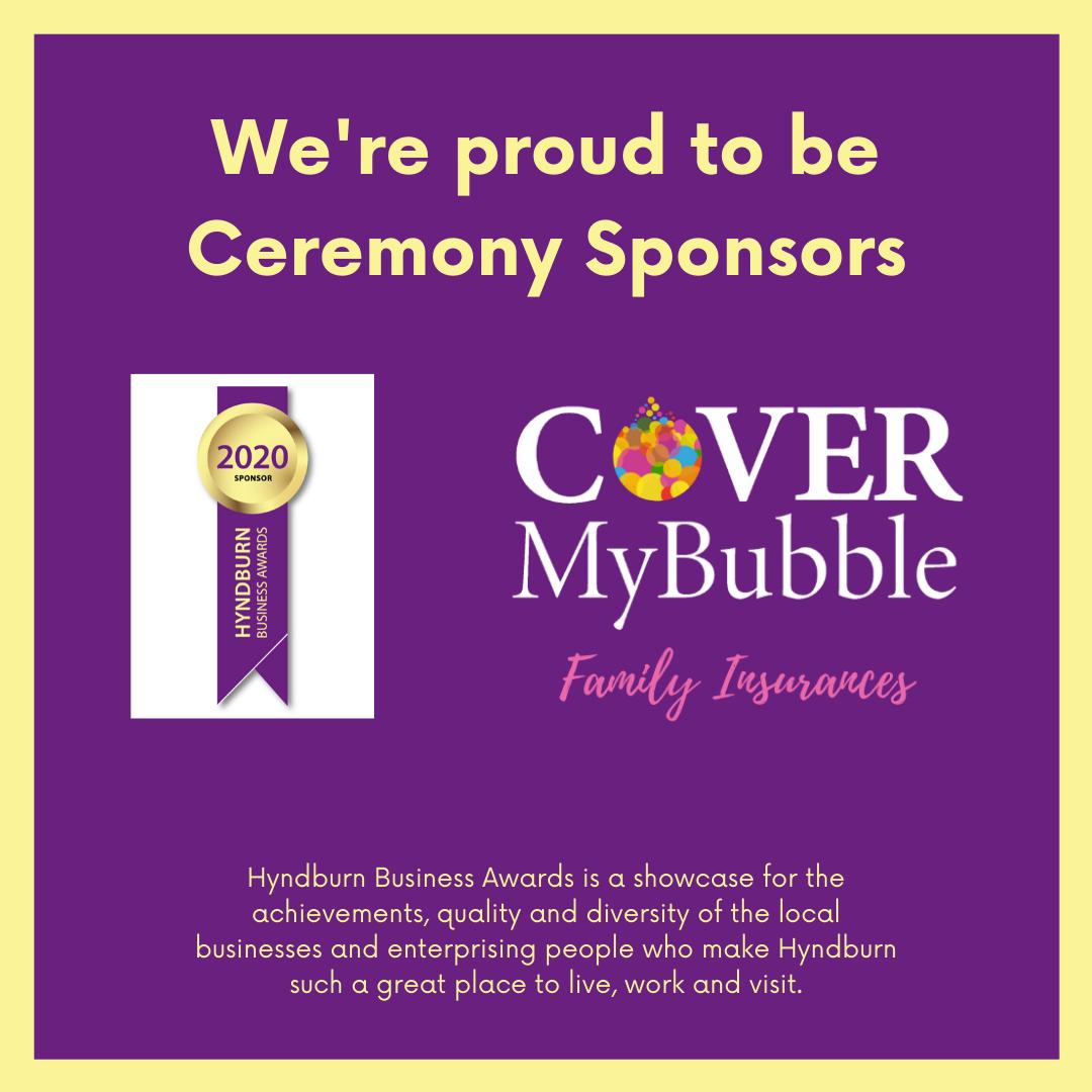 CoverMyBubble sponsor Hyndburn Awards ceremony
