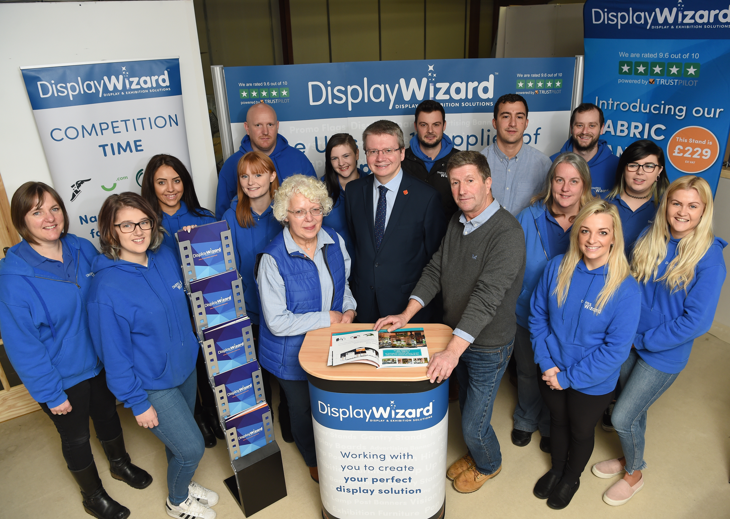 Display stand firm generates 400% growth thanks to Rosebud funding package