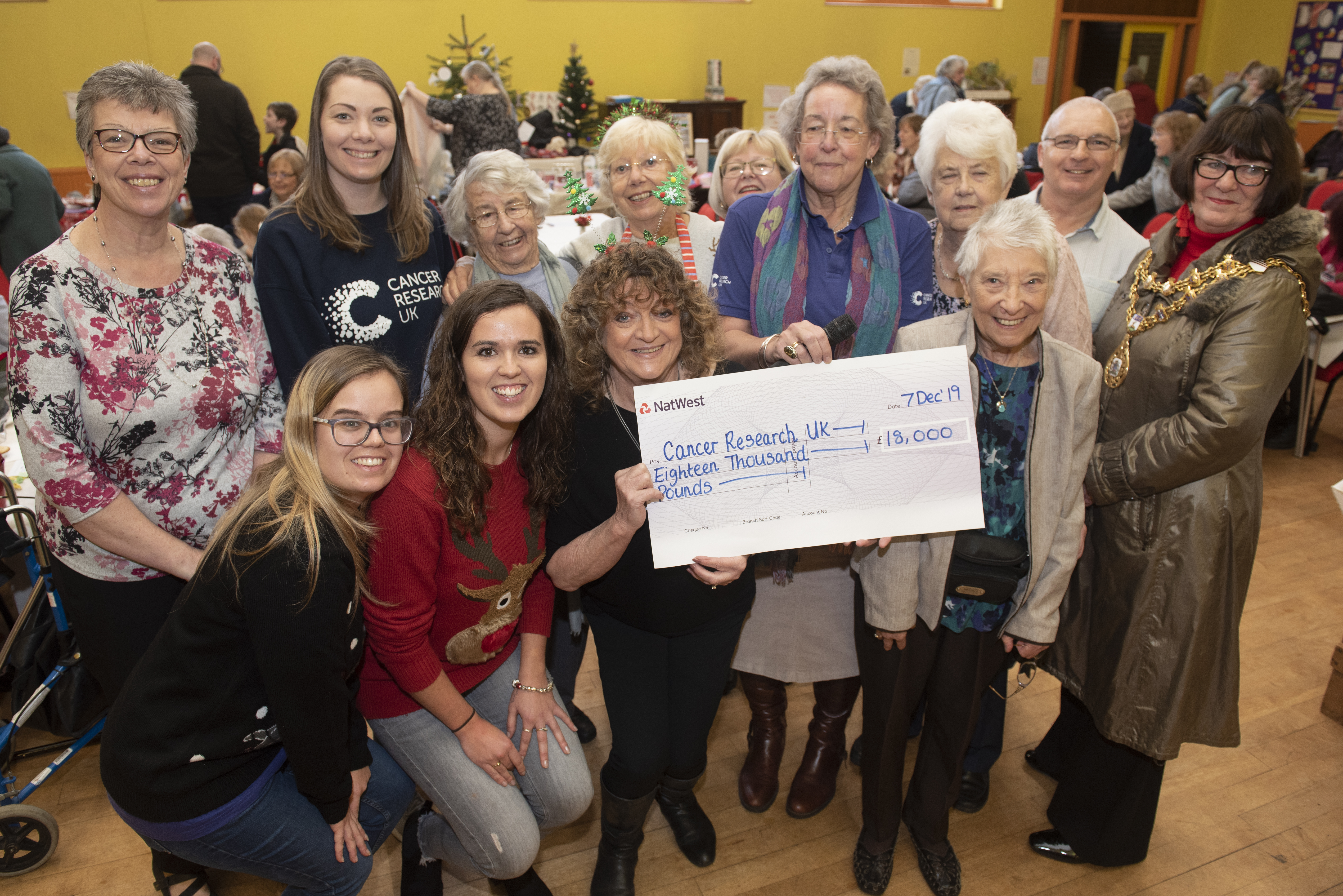 BACUP LOCAL COMMITTEE FUNDRAISE £18,000