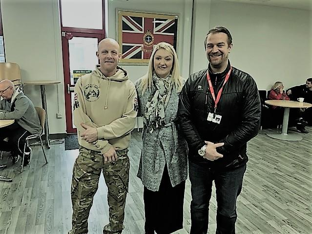 Forward Assist Recruitment meet with veterans at Healthier Heroes