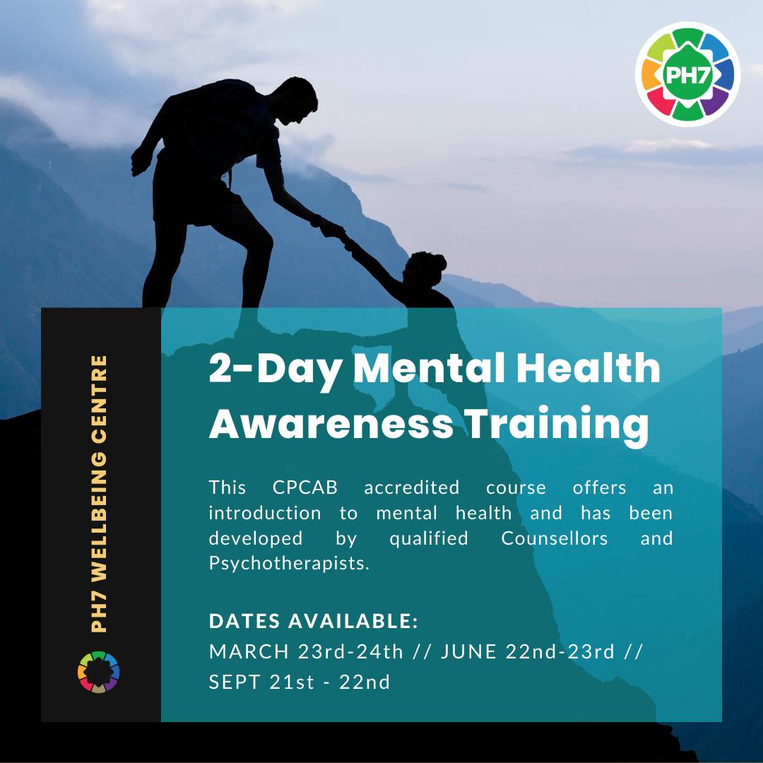 2-Day Mental Health Awareness Training