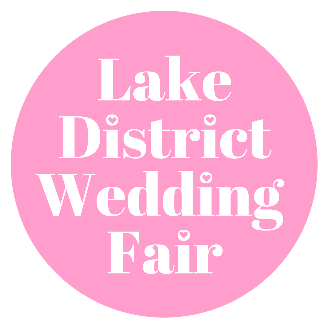 Lake District Wedding Fair 23rd & 24th February