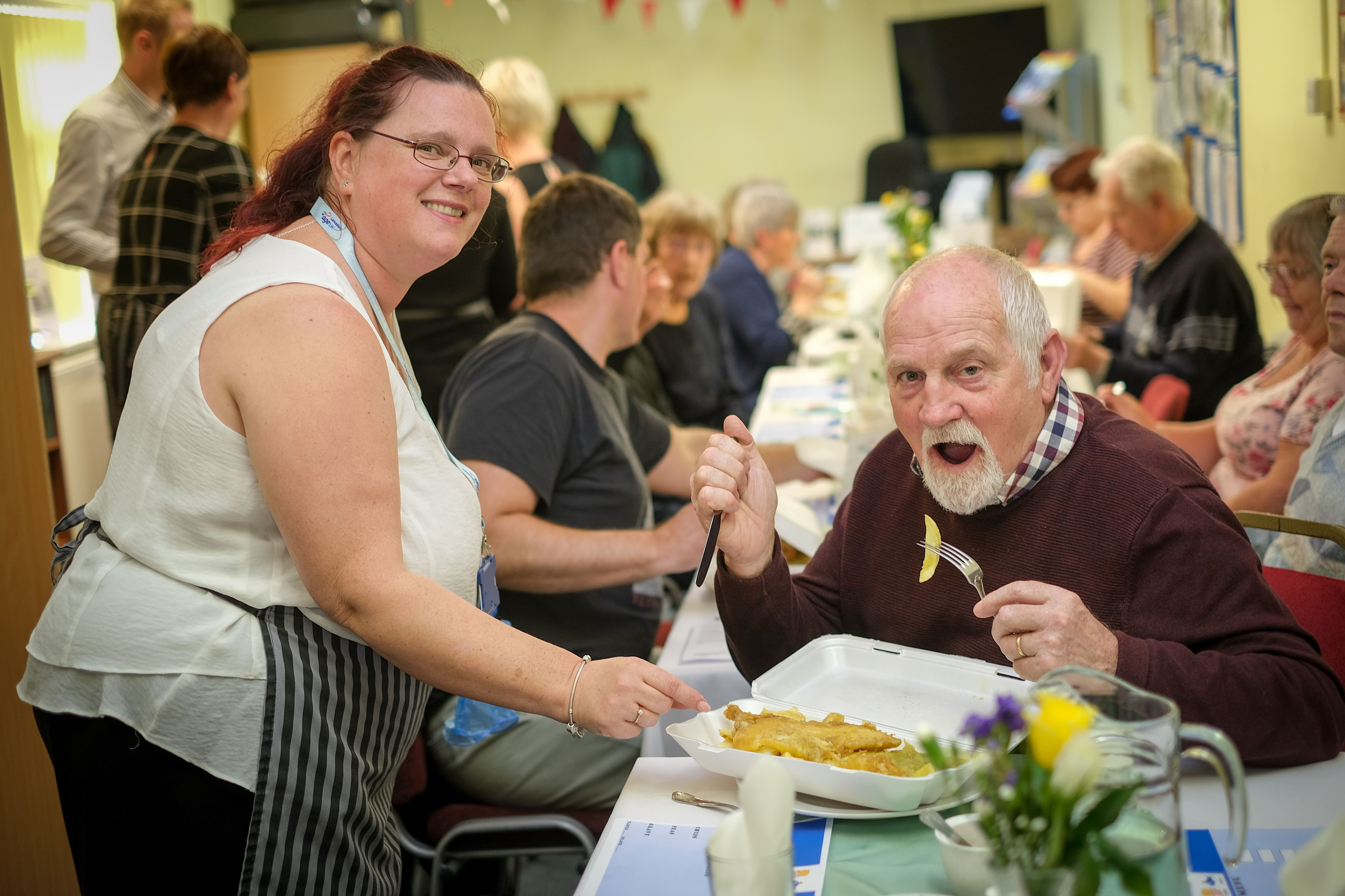 Chippy Tea & Quiz to help end loneliness