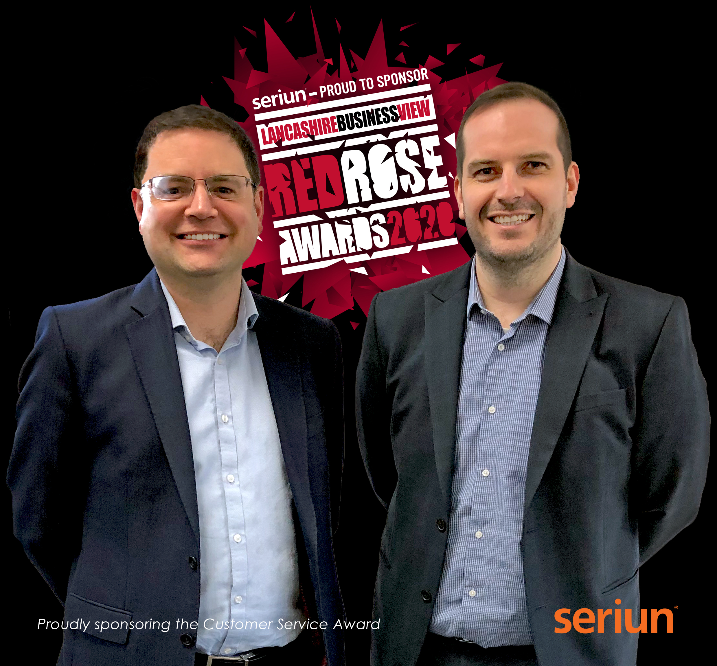Seriun Sponsor Red Rose Customer Service Award