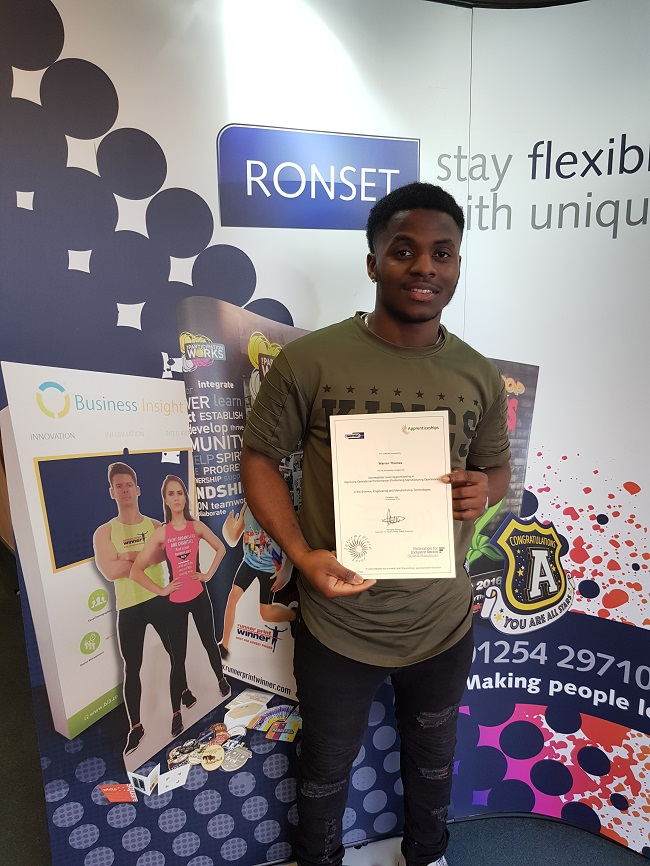 Ronset Print Specialists Enjoy Apprenticeship Success