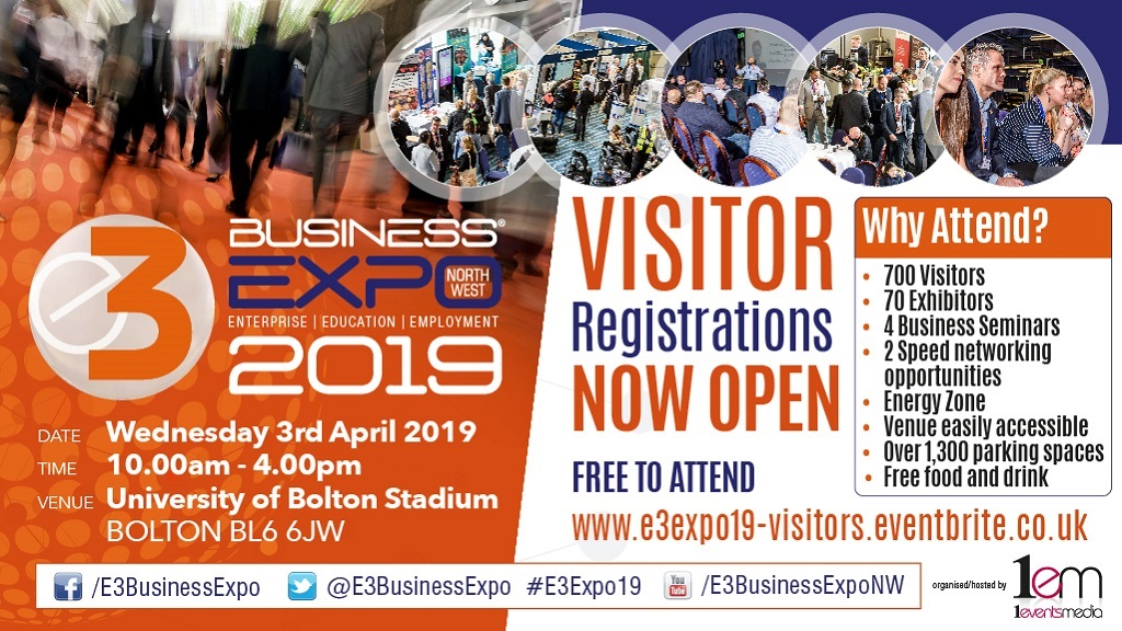 Visitor registrations now open for E3 Business Expo 2019