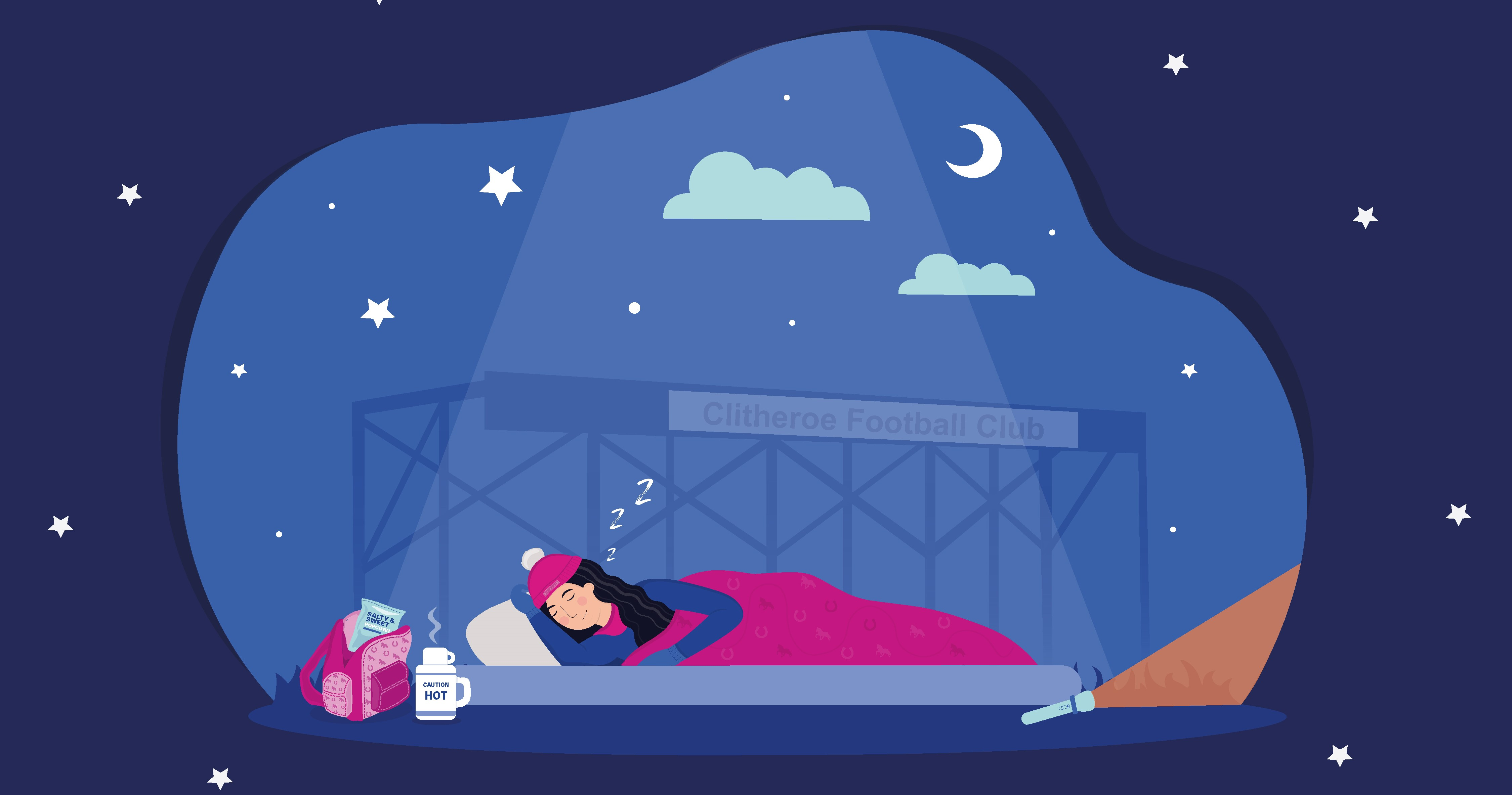 Event: Sleep Out for those Out in the Cold