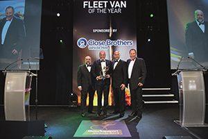 Sprinter shines at the Motor Transport Awards