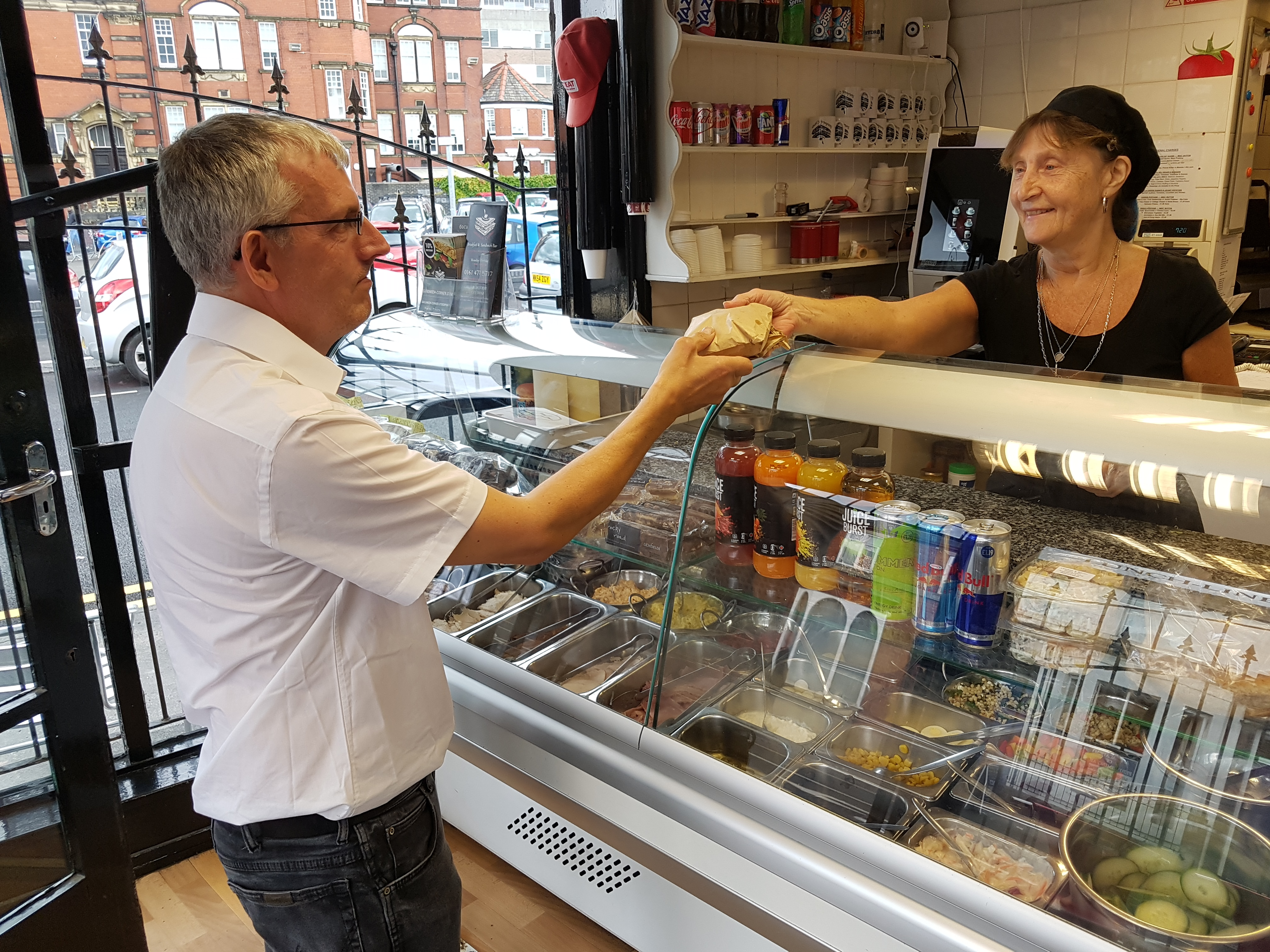 A profitable and well positioned Sandwich Shop and Cafe