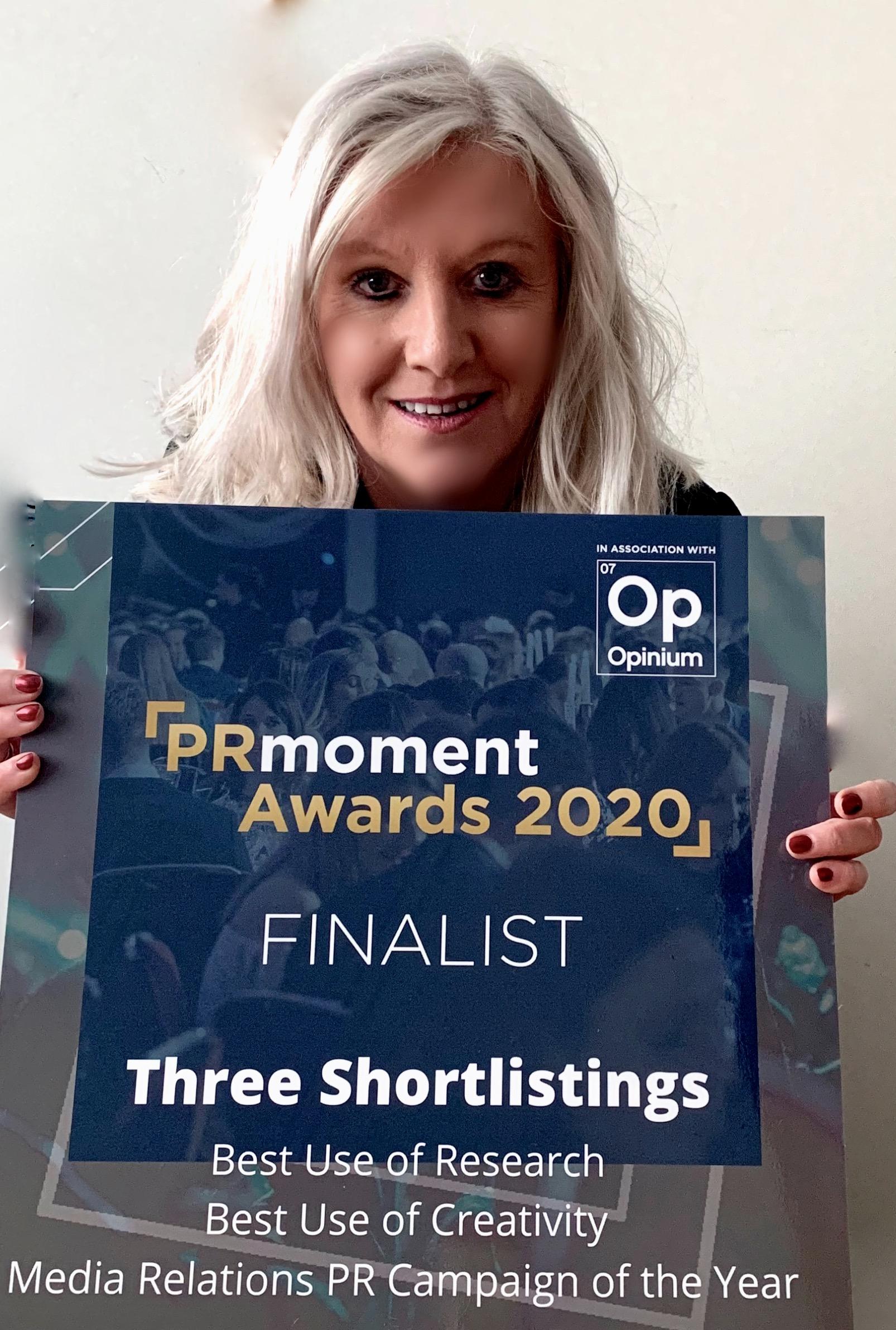 Lancashire Agency up for 3 PRMoment.com Awards