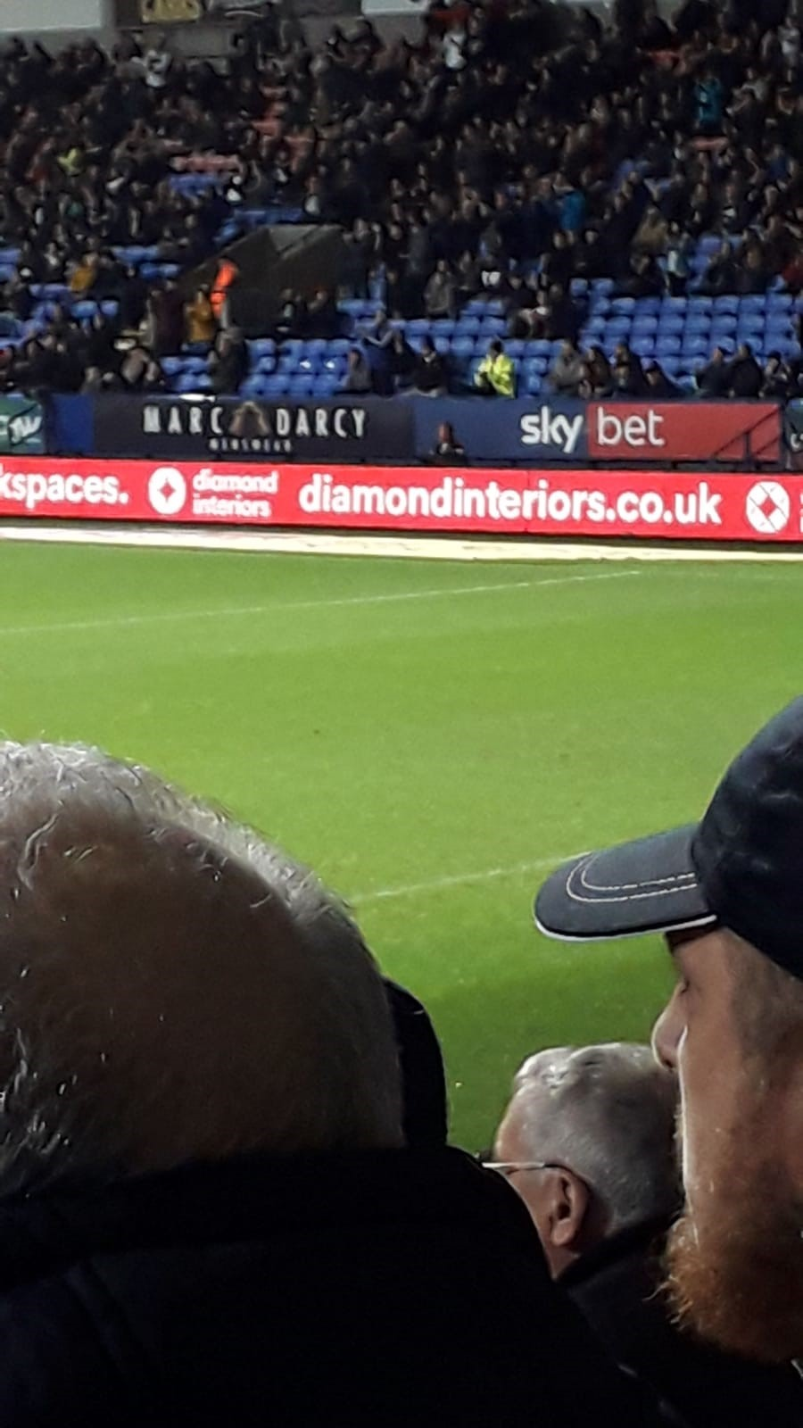 Diamond Interiors Proud Sponsors of Bolton Wanderers FC!