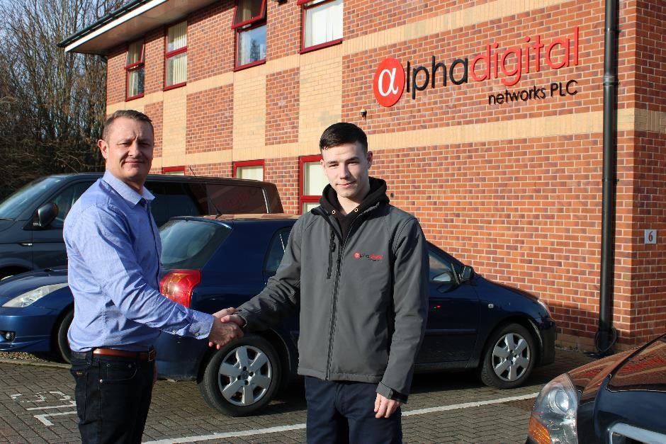 Alpha Takes on New Apprentice