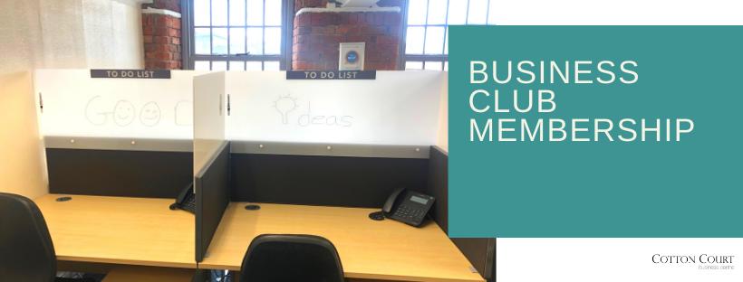 New Business Club Membership!